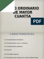 JUICIO ORDINARIO DERECHO PROCESAL CIVIL (Preparación Examen de Grado).ppt