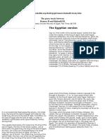 tratatul hittito egiptean