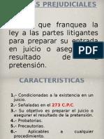Medidas Prejudiciales y Precautorias Derecho Procesal Civil (Actualizado Marzo 2012)