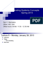 Lecture Scheduling
