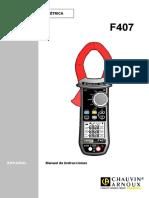 Manual Nf Pince f407 Ed2 Es