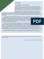 Sample Persuasive Essay
