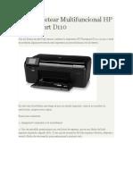 Como Resetear Multifuncional HP Photosmart D110