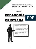 Folleto de Pedagogia 2012
