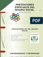 Prestaciones Especiales Del Seguro Social