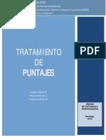 Tratamiento Puntajes PSU_Chile