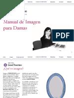 manual de imagen para damas