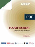 Major Incident Procedure Manual