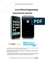 iPhone Programming Using Dashcode and Xcode