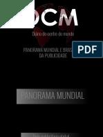 PANORAMA MUNDIAL E BRASILEIRO DA PUBLICIDADE