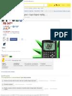 (1) Calculadora Gráfica Hp 50g Original + Capa Original- Hp50g - R$ 347,99 n