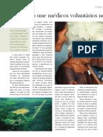Revista - Expedição une médicos para o atendimento de indígenas