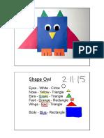 shape owl standard 1 5
