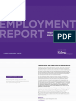 2014 Kellogg Employment Report