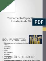 6. Treinamento específico Instalação de Gás - ok.pptx