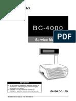 BC-4000 Service Manual