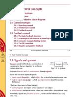Process dynamics control notes