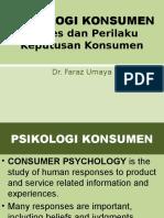 proses dan perilaku keputusan konsumen