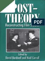 Post-Theory - Reconstructing Film Studies (David Bordwell & Noel Carroll)