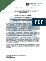 RO# 672 - Circular NAC-DGERCCG16-0001 a Instituciones Sector Público Por Pago de Indemnizaciones a Servidores Públicos (19 Enero 2016)