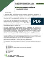 Competitividad en Aerolineas Mexicanas