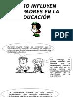 Historieta La Importancia de Los Padres en La Educación