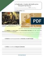 Teste Diagnóstico 1820 e o Liberalismo 1 6º ANO