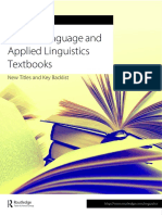 English Language and Applied Linguistics Textbooks Lo Res USD