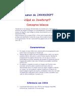 Resumen de Javascript
