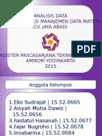 Slide Presensi Analisis Sistem