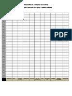 Tabela Para Instalação de Eventos Cba