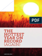 The Hottest Year on Record Report