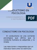 Conductismo en Psicologia