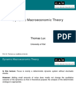 Discrete Economic Dynamics