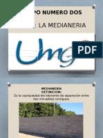 Deapositivas La Medianeria