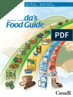 canadas food guide - english