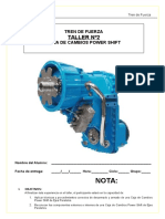Guía N°2 Caja de Cambios power shift ejes paralelos