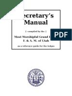 Secretary s Manual 1