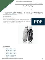 Tutorial Cara Install Pb Tool Di Windows _ MBAH BLOGGER