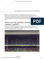 Great Cup Ties, Grandes Corbatas (_) Coperas, Capítulo 1 _ La Redó!