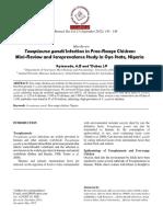 Toxoplasmosis - Referencias