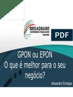 Gpon Ou Epon