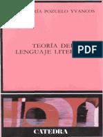 Pozuelo Yvancos- Estructura y Pragmática Del Texto Lírico