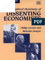 Dictionary Economist Dissidents