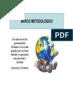 Cómo formular el marco metodológico de una investigación- Metodología