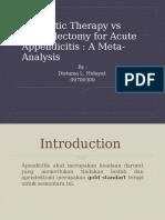 Jurnal Appendectomy