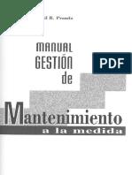 Auditori A Manual de gestión de mantenimiento a la medida