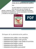 Administración Pública