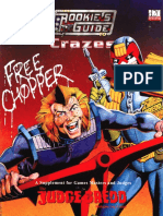 Judge Dredd Rpg - The Rookie's Guide to Crazes
