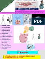 Presentación Economía de La Salud en El Peru Final (16!01!2016) 3 6 y 30 Pm.